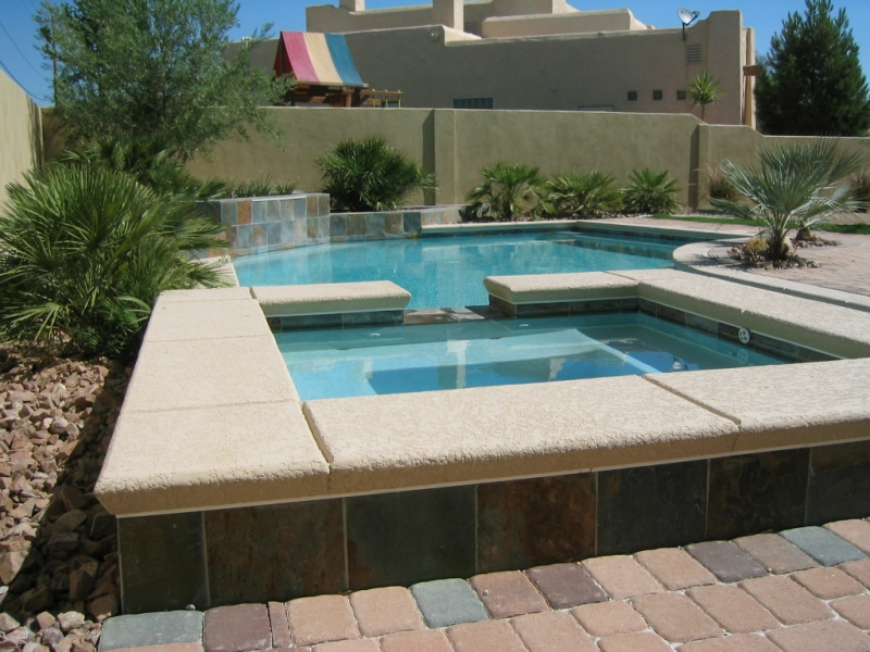 Pool and spa designs custom swimming pool design service for Pool and spa designs