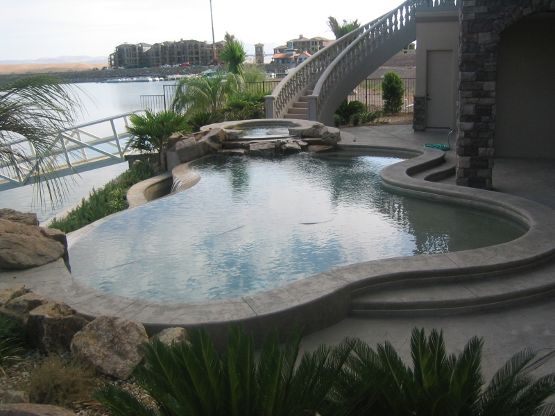 Pool And Spa Designs Custom Swimming Pool Design Service